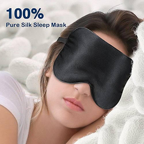 Eye Mask For Sleeping Paitree Natural Silk Sleep Mask