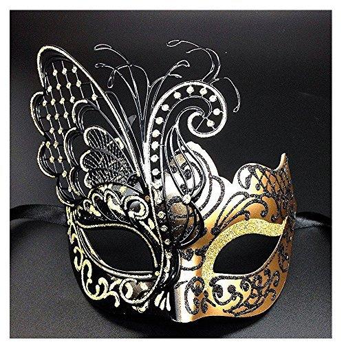 Hoshin Masquerade Mask, Mardi Gras Deecorations Venetian Masks for ...