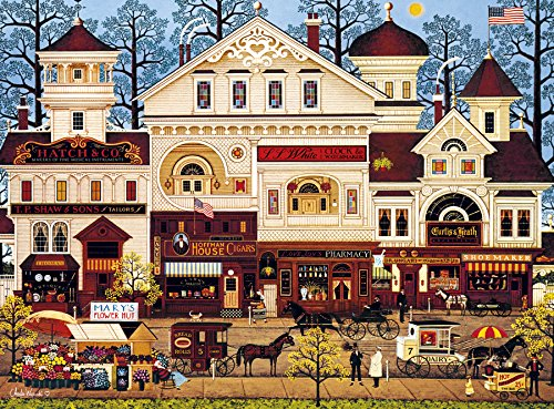 9ed3d7b75dbf8 ... Buffalo Games – 1000 Piece Jigsaw Puzzle – Charles Wysocki. A bonus  puzzle poster is also included so that you have a handy reference of what  the ...