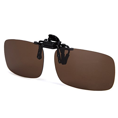 6b75d136f1 ElementsActive Polarized Clip-on Driving Sunglasses with Flip Up ...
