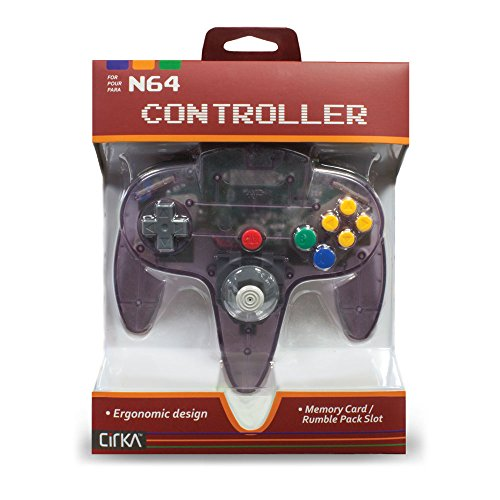 CirKa Controller for N64 Atomic Purple – FlaVona