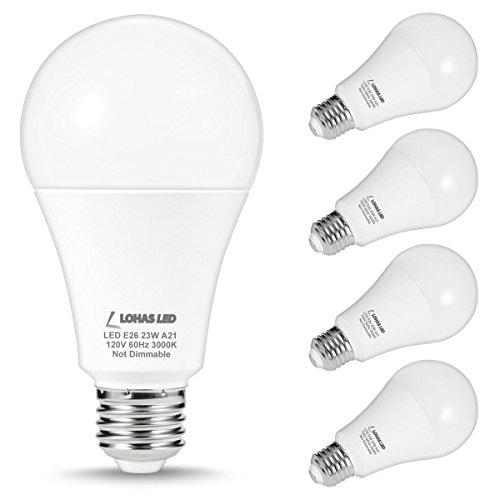 Bogao 4 Pack LED Candelabra Bulb, 12W Warm White 3000K LED Candle