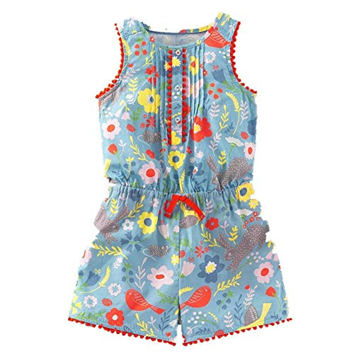12f4d103854f Frogwill Baby Toddler Girls Unicorn Rainbow Romper Summer Playsuit 18M-7Y
